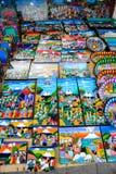 Mercado em Otavalo, Equador Imagens de Stock