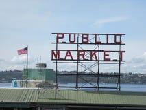 Mercado em Seattle, EUA Imagem de Stock Royalty Free