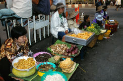Mercado em Tailândia. Fotografia de Stock Royalty Free
