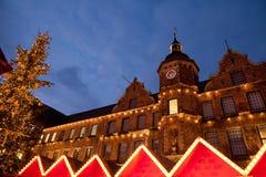 Mercado en Altstadt fotografía de archivo