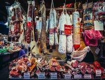 Mercado en Barcelona imagenes de archivo