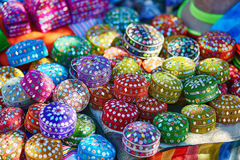Mercado en Chefchaouen, Marruecos Fotos de archivo libres de regalías