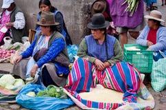 Mercado en Cusco, Perú Imagenes de archivo