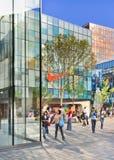 Mercado en el área comercial del pueblo, Pekín, China de Nike Imagen de archivo libre de regalías
