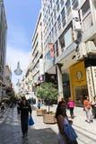 Mercado en la calle de Atenas, Grecia Foto de archivo libre de regalías