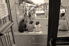 Mercado en la ciudad de Torino Fotografía de archivo libre de regalías