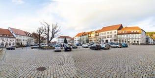 Mercado en mún Frankenhausen Foto de archivo