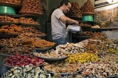 Mercado en Marruecos Imagen de archivo libre de regalías
