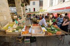 Mercado en Martel Foto de archivo libre de regalías