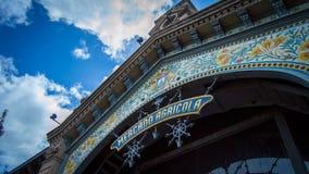Mercado en Montevideo imagen de archivo libre de regalías