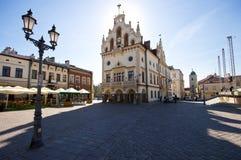Mercado en Rzeszow Imagen de archivo libre de regalías