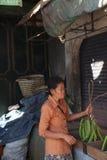 Mercado en Wonosobo Imágenes de archivo libres de regalías