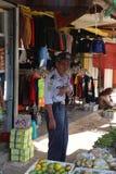 Mercado en Wonosobo Fotografía de archivo libre de regalías