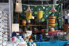 Mercado esquisito de Spitalfields Fotografia de Stock