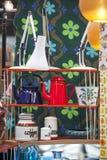 Mercado esquisito de Spitalfields Fotografia de Stock Royalty Free
