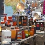 Mercado esquisito de Spitalfields Imagem de Stock Royalty Free