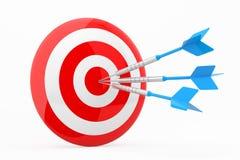 Mercado estratégico, conceito da estratégia empresarial Foto de Stock
