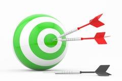 Mercado estratégico, conceito da estratégia empresarial Fotos de Stock Royalty Free