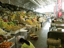 Mercado exterior, alameda do mercado do mercado, Taguig, metro Manila, Filipinas Fotos de Stock Royalty Free