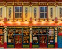 Mercado famoso de Leadenhall en Londres Reino Unido Fotos de archivo libres de regalías