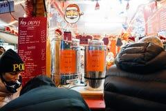 Mercado ferventado com especiarias do Natal do vinho Foto de Stock Royalty Free