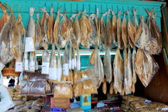 Mercado filipino en Sabah fotografía de archivo libre de regalías