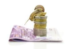 Mercado financiero lento Imágenes de archivo libres de regalías