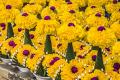 Mercado floral en Bangkok, Tailandia Fotos de archivo libres de regalías