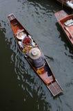 Mercado flotante Fotos de archivo libres de regalías