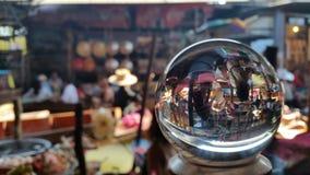 Mercado flotante Tailandia Fotografía de archivo libre de regalías