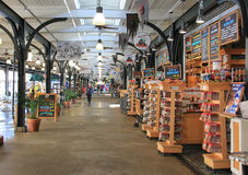 Mercado francês Imagem de Stock Royalty Free