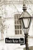Mercado francês Foto de Stock