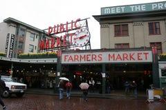 Mercado fresco fotografía de archivo