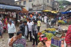 Mercado fresco, Bangalore la India foto de archivo libre de regalías