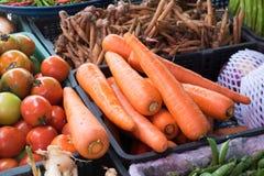 Mercado fresco vegetal, comida Foto de archivo
