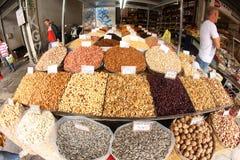 Mercado general de Atenas Foto de archivo libre de regalías