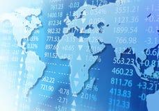 Mercado global Imagen de archivo libre de regalías