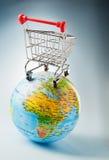 Mercado global Imagenes de archivo