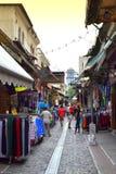 Mercado Grecia de Salónica Imagen de archivo libre de regalías