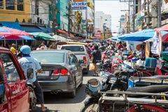 Mercado Hat Yai de Kim Yong Imagenes de archivo