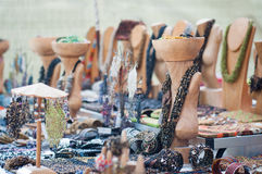 Mercado hecho a mano Foto de archivo
