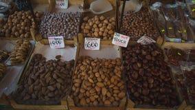 Mercado histórico de la ceja en Palermo, Sicilia Mercado callejero famoso fotografía de archivo