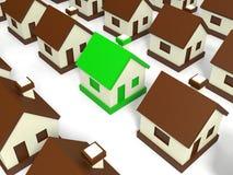 Mercado imobiliário. Imagem de Stock Royalty Free