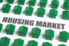 Mercado imobiliário fotografia de stock