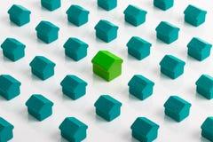 Mercado imobiliário e bens imobiliários Fotos de Stock Royalty Free