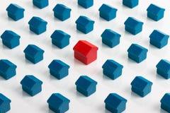 Mercado imobiliário e bens imobiliários Imagem de Stock Royalty Free