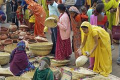 Mercado indio Fotografía de archivo libre de regalías