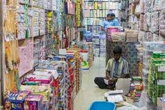 Mercado indio Imagen de archivo libre de regalías