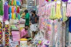 Mercado indio Imágenes de archivo libres de regalías