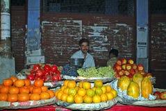 Mercado indio del alimento Foto de archivo libre de regalías